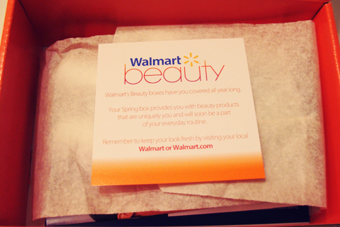 Walmart Beauty Box - Spring Edition | Style Through Her Eyes