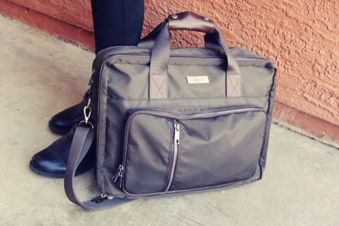 Lodinatt Briefcase Review | Style Through Her Eyes