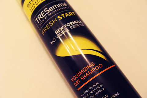 TRESemmé Volumizing Dry Shampoo Review | Style Through Her Eyes