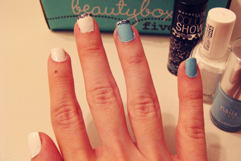 Beauty Box 5: Alice in Wonderland Manicure | Style Through Her Eyes
