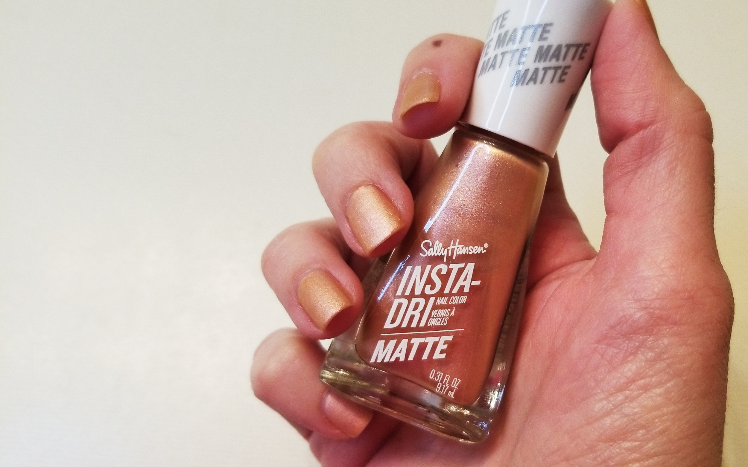 Sally Hansen Insta-Dri Nail Polish Review | Style Through Her Eyes