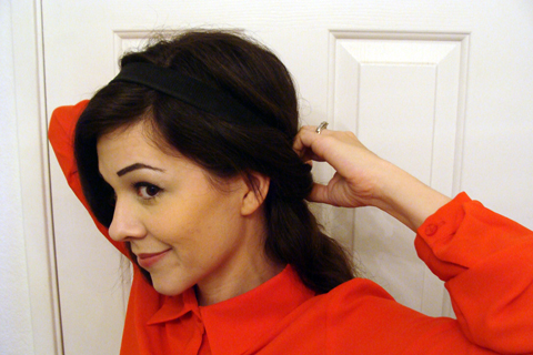 Downton Abbey-esque Hair Tutorial | Style Through Her Eyes